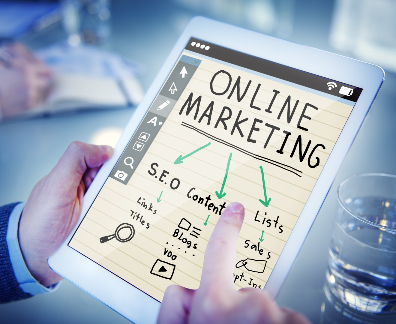 Online Marketing - Digital Block
